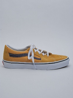 Vans Sk8 low Honey gold purple velvet