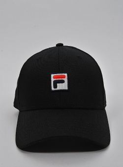 Fila Dad cap box logo Black