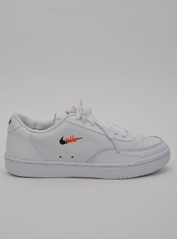 Nike Court vintage prm White black total orange