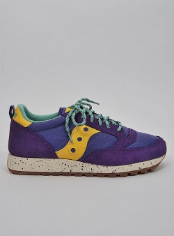 Saucony Jazz outdoor Purple yellow