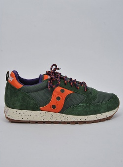 Saucony Jazz outdoor Green orange