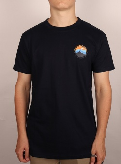 Wemoto Mountain tee Navy blue