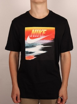 Nike Summer photo tee Black