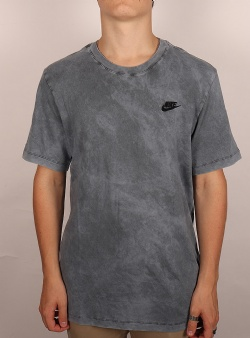 Nike Washed club tee Anthracite