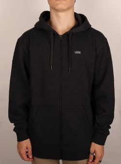 Vans Basic zip hoodie Black heather