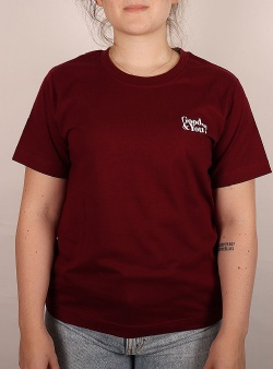 Dedicated Good and you Mysen tee Burgundy