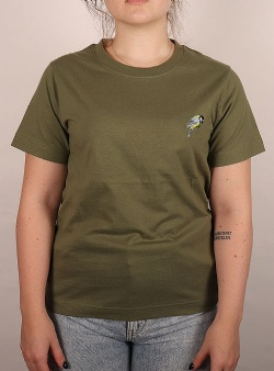 Dedicated Little bird Mysen tee Leaf green