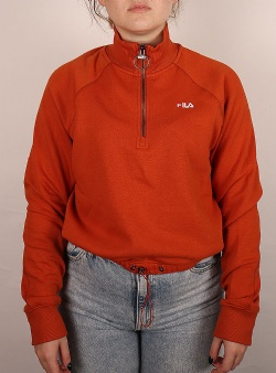 Fila Marcy half zip sweater Cinnamon stick