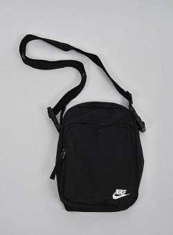 Nike Heritage 2.0 bag Black white
