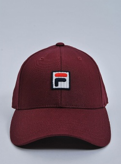 Fila Dad cap box logo Tawny port
