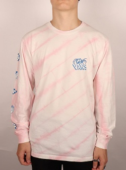Vans Widow maker tie dye ls Pink