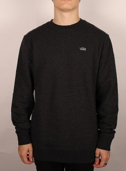 Vans Basic crew sweat Black heather