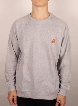 Dedicated X Nintendo Malmoe Super Mario sweat Grey melange