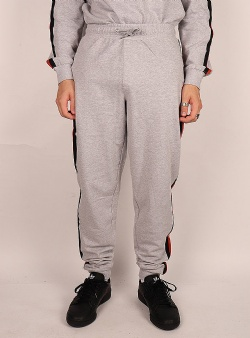 Dedicated X Nintendo Lund NES stripe jogger Grey melange
