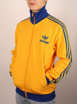 Adidas 70s archive track top active gold