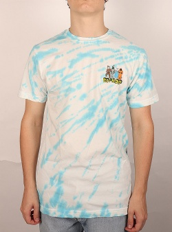 Rip n Dip No place like home tee Blue stripe tie dye