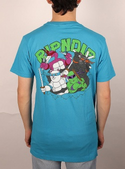 Rip n Dip Teenage mutant tee Blue