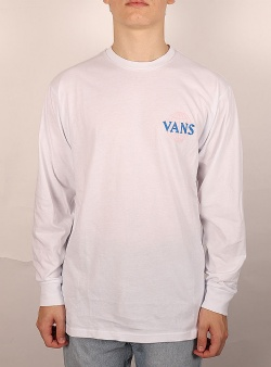 Vans Pillars ls tee White