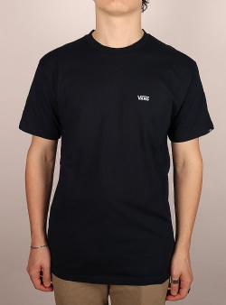 Vans Left chest logo tee Navy white
