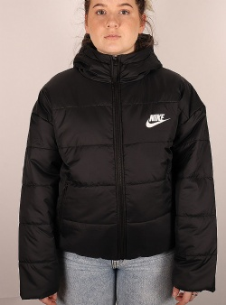 Nike Synthetic fill jacket Black