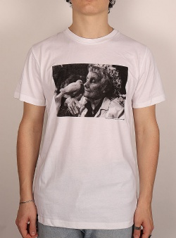 Dedicated Astrid och duvan tee White