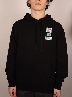 New Balance Essentials fiels day hoodie Black