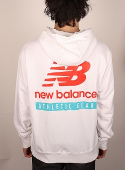 New Balance Essentials field day hoodie White