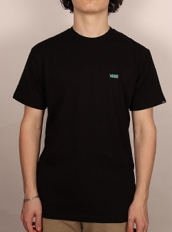 Vans Left chest logo tee Black waterfall