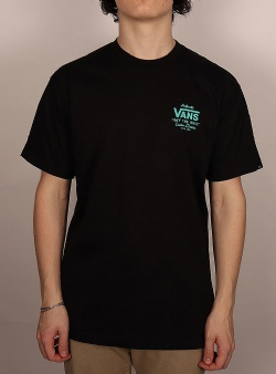 Vans Holder street tee Black waterfall