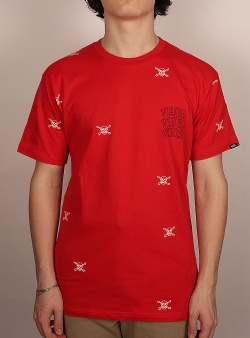 Vans New varsity tee High risk red
