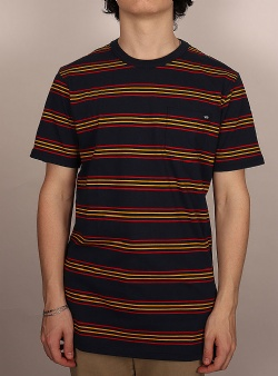 Vans Chaparral stripe tee Dress blues