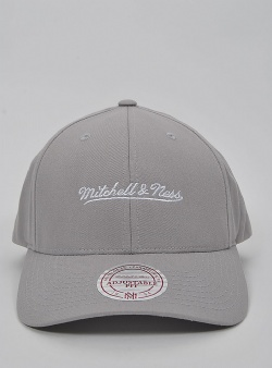 Mitchell and Ness Script lo pro snapback Grey