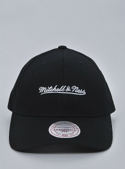Mitchell and Ness Script lo pro snapback Black