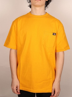 Dickies Porterdale tee Cadmium yellow