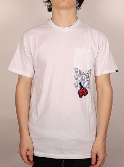 Vans New varsity pocket tee White
