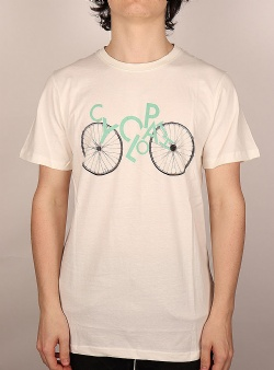 Dedicated Cyclopath tee Off white