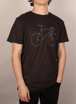 Dedicated Bicycle tee Charcoal