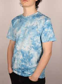Dedicated Tie dye tee Blue