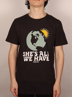 Dedicated All we have tee Charcoal