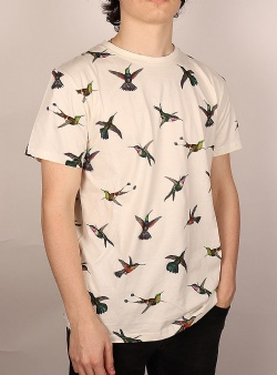 Dedicated Hummingbirds tee Off white