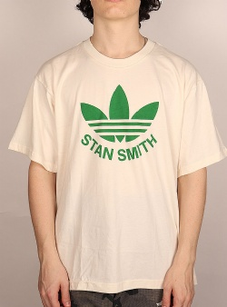 Adidas Trefoil stan smith tee Non dyed