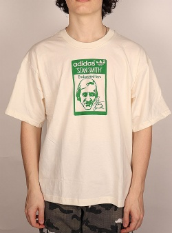 Adidas Tongue stan smith tee Non dyed