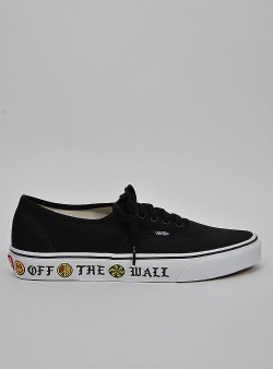 Vans Authentic sidewall OTW black