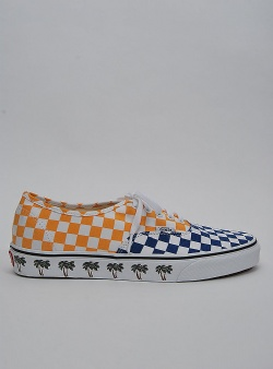 Vans Authentic sidewall Palmtree checkerboard
