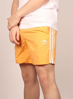 Adidas 3 stripe swim shorts Hazora
