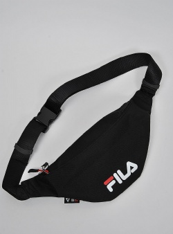 Fila Waistbag slim small logo Black