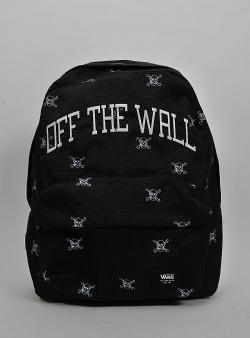Vans Old skool III backpack Black new varsity