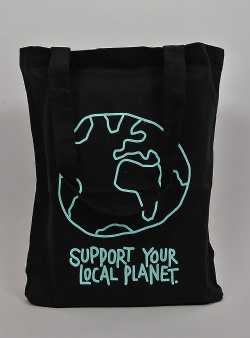 Dedicated Local planet tote Black