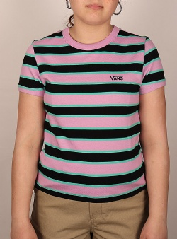 Vans Big stripe tee Black