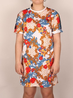 Adidas Dress 3 stripes Floral pattern multicolor